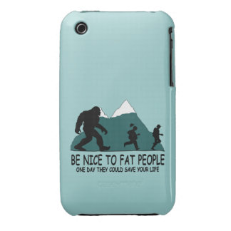 Funny Sasquatch Case-Mate iPhone 3 Cases