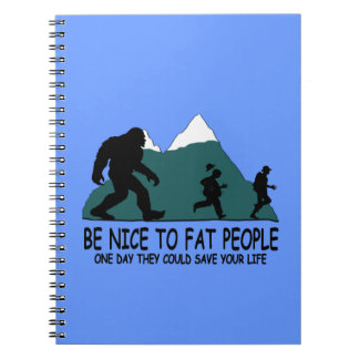 Funny Sasquatch Notebook