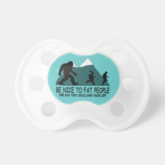 Funny Sasquatch Pacifiers
