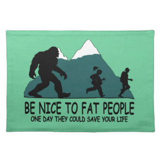 Funny Sasquatch Placemat