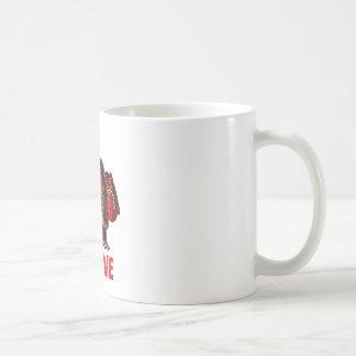 Funny Sasquatch Santa Claus Christmas Design Coffee Mug