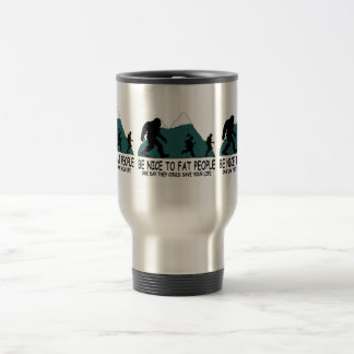 Funny Sasquatch Travel Mug