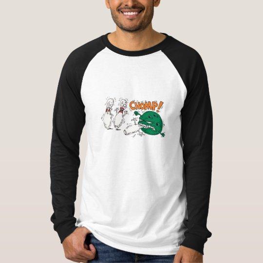 funny savage bowling ball bowling humour T-Shirt