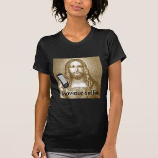 Funny Save Yourself Parody Saviour Selfie T Shirt