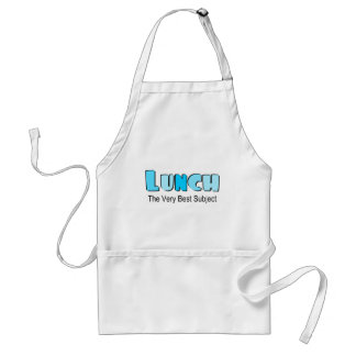 Funny Saying About Lunch Standard Apron