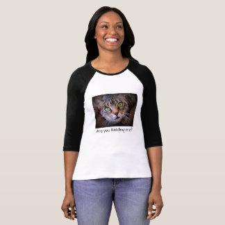 Funny Saying Gray Tabby Cat T-Shirt