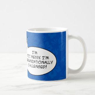 Funny saying in cartoon word ballon mug
