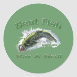 Funny Sayings Collection by FishTs Classic Round Sticker