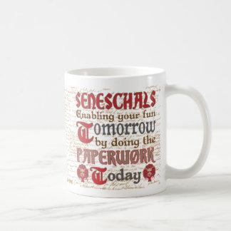 Funny SCA Seneschal Paperwork Coffee Mug