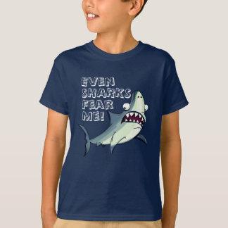 "Funny Scare Shark ""Fear Me"" T-Shirt"