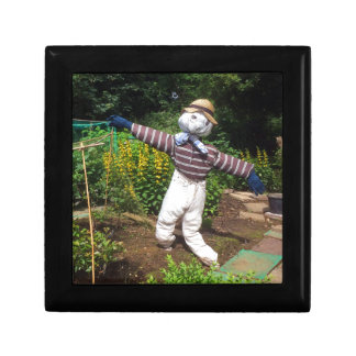 Funny scarecrow gift box