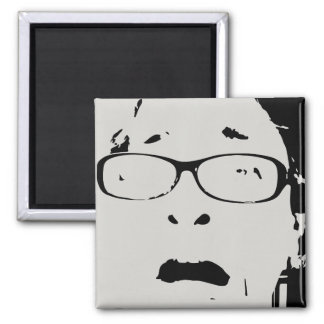 Funny Scared Face Print Magnets