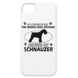 funny SCHNAUZER designs iPhone 5 Cover