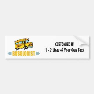 Funny School Bus Bumper Sticker