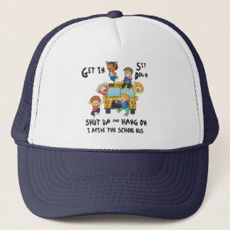 Funny School Bus Driver Back to School Trucker Hat