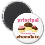 Funny School Principal Magnet
