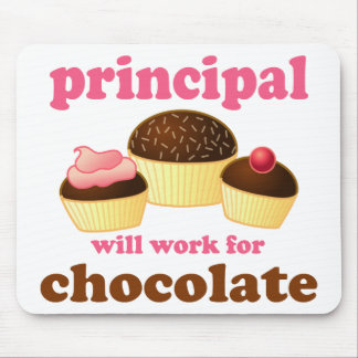 Funny School Principal Mousepad