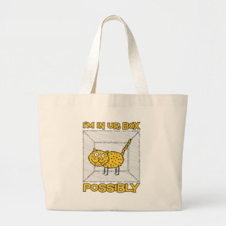 Funny Schrodinger s Cat Lolcat Tote Bag