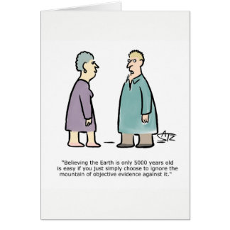Funny science geology greeting card