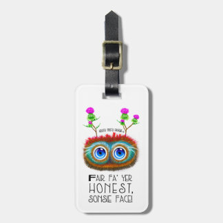 Funny Scottish Haggis Robert Burns Quote Luggage Tag