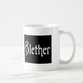 Funny Scottish Slang Word Blether Basic White Mug