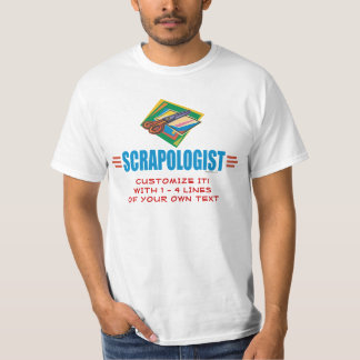 Funny Scrapbooking Tee Shirts