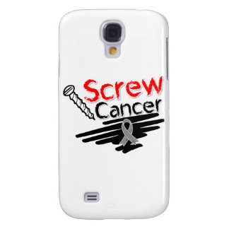 Funny Screw Brain Cancer Galaxy S4 Covers