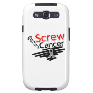 Funny Screw Brain Cancer Samsung Galaxy S3 Covers