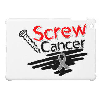 Funny Screw Brain Cancer iPad Mini Cases