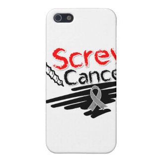 Funny Screw Brain Cancer Covers For iPhone 5