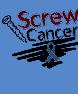 Funny Screw Brain Cancer Shirts