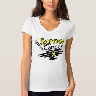 Funny Screw Testicular Cancer T-Shirt