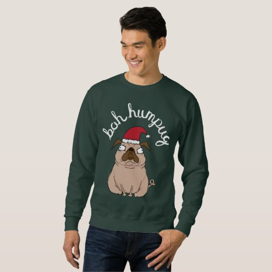Funny Scrooge Pug Ugly Christmas Sweater