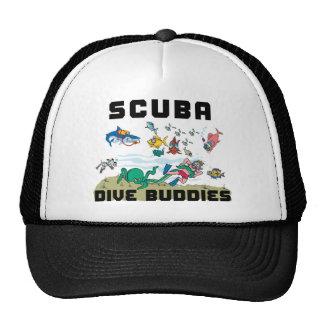 Funny SCUBA Dive Buddy Cap
