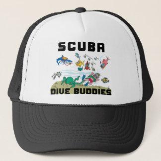 Funny SCUBA Dive Buddy Trucker Hat