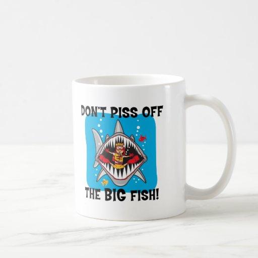 Funny SCUBA Diving Coffee Mugs