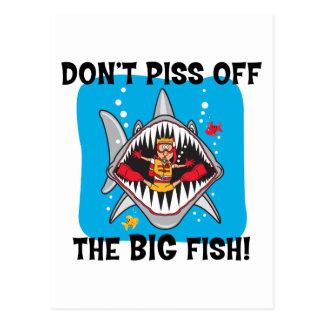 Funny SCUBA Diving Postcard