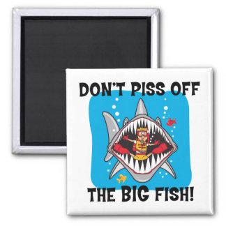 Funny SCUBA Diving Refrigerator Magnet