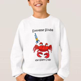Funny scuba sweatshirt