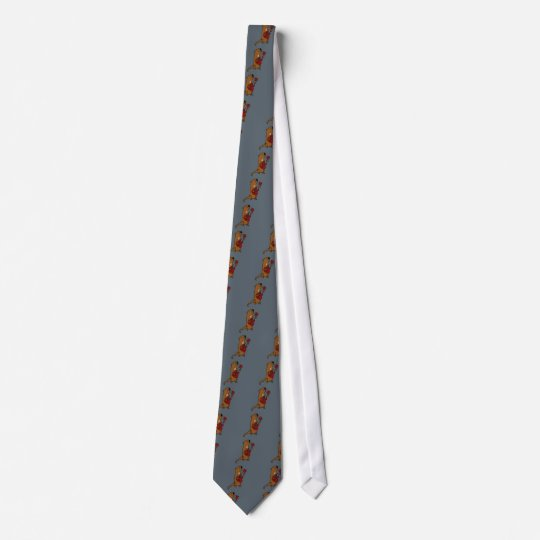 Funny Sea Otter Playing Guitar Tie