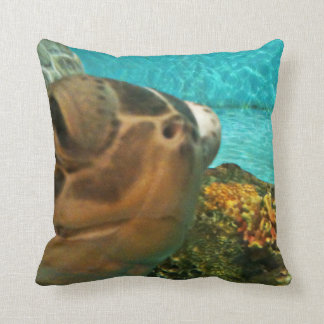 Funny Sea Turtle Selfie Cushion