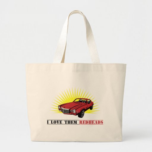 Funny Seventies Muscle Car Tote Bag