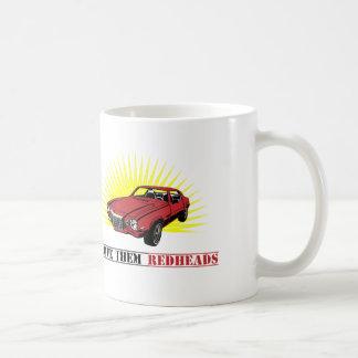 Funny Seventies Muscle Car Basic White Mug