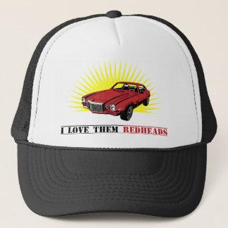 Funny Seventies Muscle Car Trucker Hat