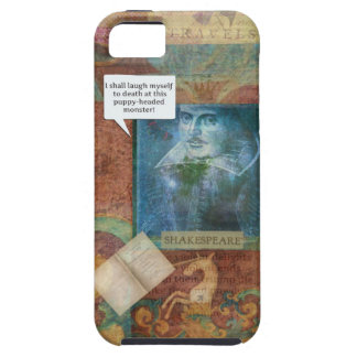 Funny Shakespeare insult quote iPhone 5 Covers