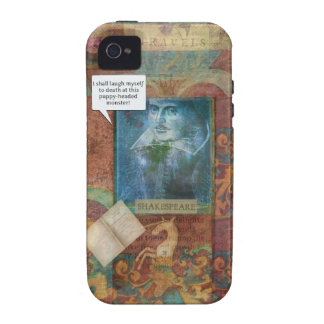 Funny Shakespeare insult quote iPhone 4/4S Cases
