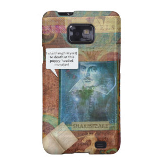 Funny Shakespeare insult quote Galaxy S2 Covers