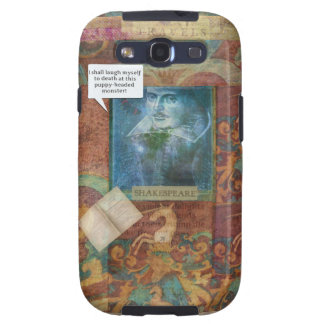 Funny Shakespeare insult quote Galaxy SIII Cases