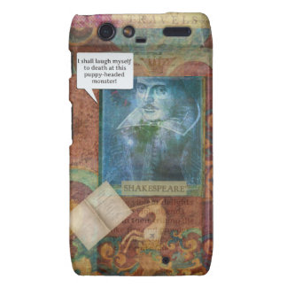 Funny Shakespeare insult quote Droid RAZR Covers