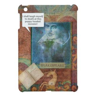 Funny Shakespeare insult quote iPad Mini Cover